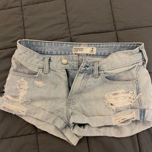 Abercrombie and Fitch size 2 jean shorts